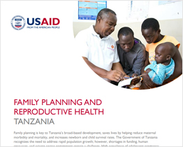 Family Planning and Reproductive Health Tanzania