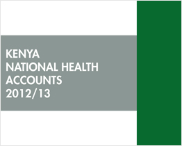 Kenya National Health Accounts 2012/2013