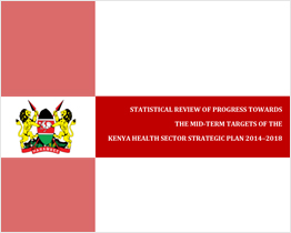 Statistical review of progress