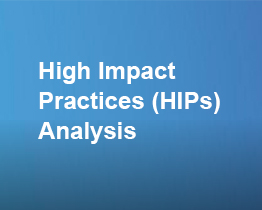 High Impact Practices (HIPs) Country Analysis